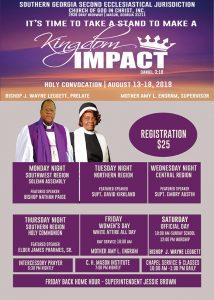 Holy Convocation @ Southern Georgia 2nd Ecclesiastical Jurisdiction Headquarters | Macon | Georgia | United States
